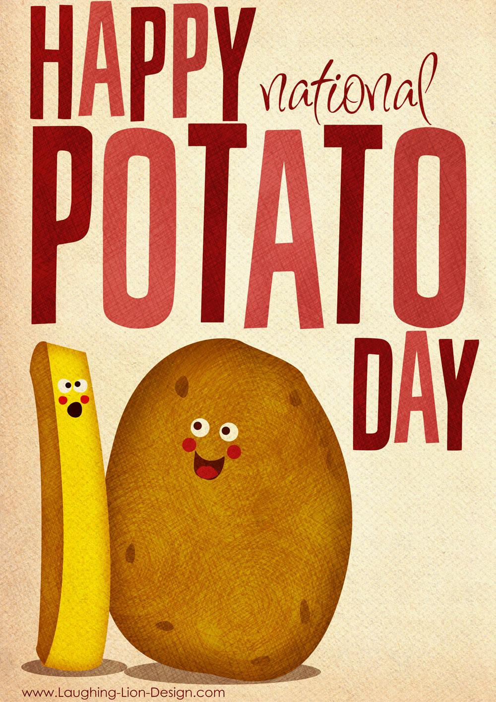 Happy National Potato Dayor Is It?  Potato Chip World : Potato